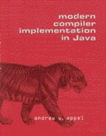 Modern Compiler Implementation in Java   1998 edition cover