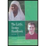 LITTLE BROWN HANDBOOK BRIEF >CUSTOM< 1st 9780536491886 Front Cover