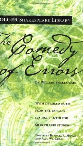 Comedy of Errors   2005 edition cover