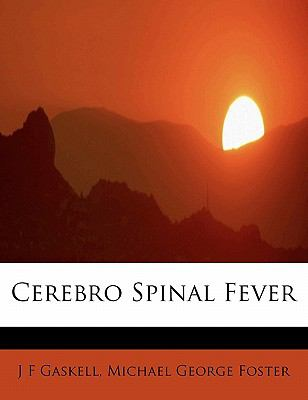 Cerebro Spinal Fever  N/A 9781113970886 Front Cover