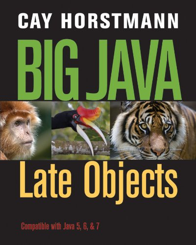 Big Java Late Objects  2013 edition cover