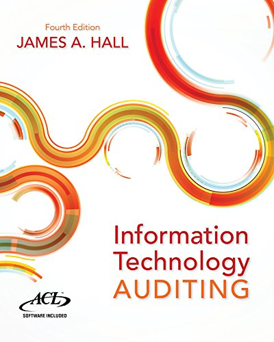 Information Technology Auditing  4th 2016 9781133949886 Front Cover