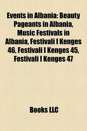 Events in Albani Beauty Pageants in Albania, Music Festivals in Albania, Festivali I K�ng�s 46, Festivali I K�ng�s 45, Festivali I K�ng�s 47  2010 edition cover