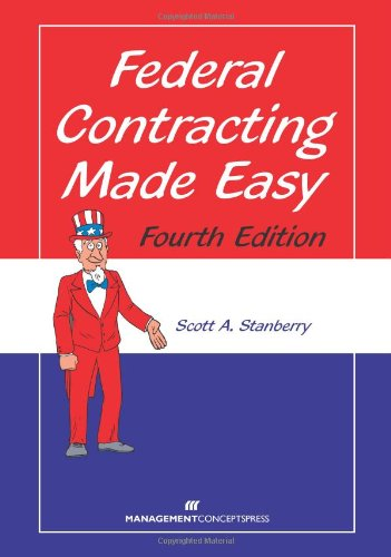 Federal Contracting Made Easy:   2013 edition cover