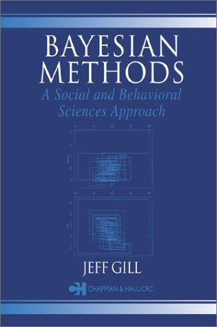 Bayesian Methods for the Social and Behavioral Sciences   2002 edition cover