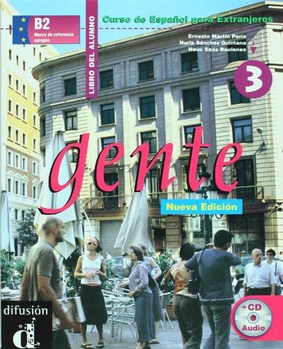 GENTE 3 NUEVA EDICI�N. LIBRO DEL ALUMNO + CD   2005 edition cover