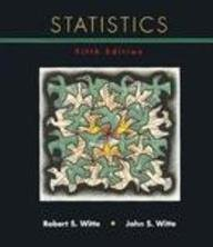 Statistics : Preview of Statistics 2.0 Program 5th 1997 edition cover