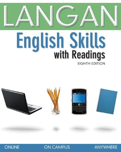 English Skills with Readings  8th 2012 9780077513887 Front Cover