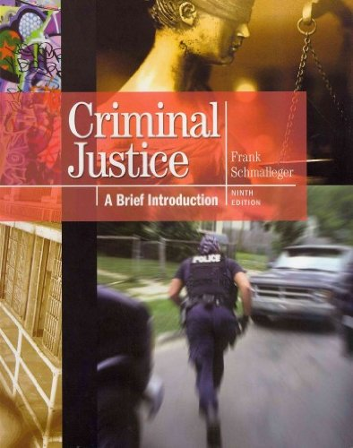 Criminal Justice A Brief Introduction and Criminal Justice Interactive Student Access Code Card Package 9th 2012 9780132768887 Front Cover