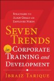 Seven Trends in Corporate Training and Development Strategies to Align Goals with Employee Needs  2014 edition cover
