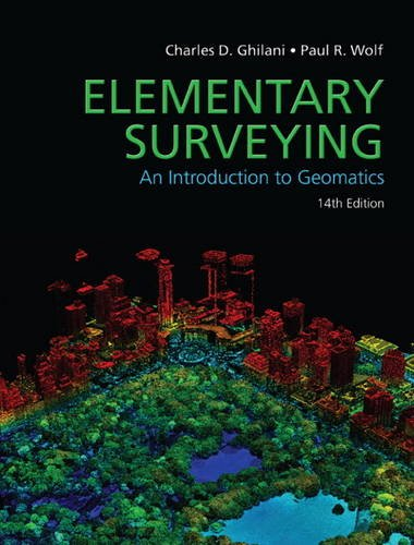 Elementary Surveying  14th 2015 edition cover