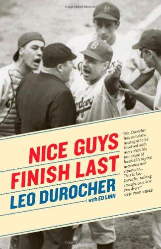 Nice Guys Finish Last   2009 edition cover