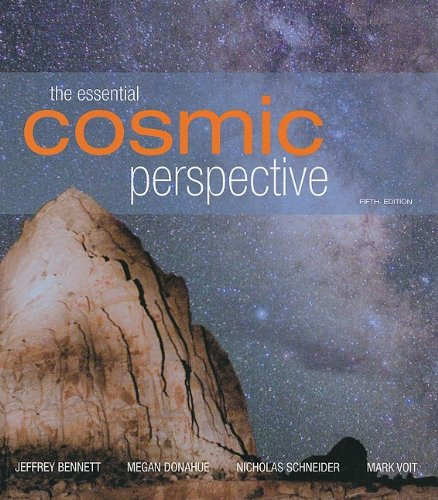 Cosmic Perspective  5th 2009 edition cover