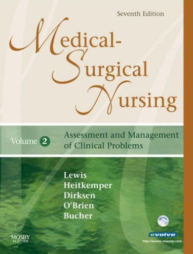 Medical-Surgical Nursing Assessment and Management of Clinical Problems 7th 2007 (Revised) 9780323036887 Front Cover
