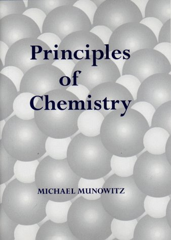 Principles of Chemistry   2000 edition cover