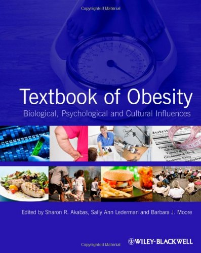 Textbook of Obesity Biological, Psychological and Cultural Influences  2012 edition cover