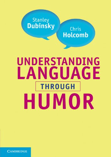 Understanding Language Through Humor   2011 9780521713887 Front Cover