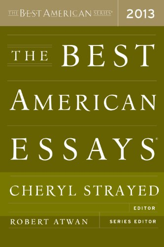 Best American Essays 2013  N/A edition cover