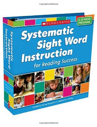 Systematic Sight Word Instruction for Reading Success A 35-Week Program  2008 edition cover