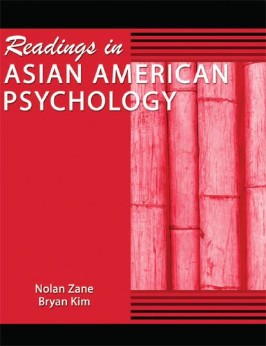 Readings in Asian American Psychology  Revised 9780757516887 Front Cover
