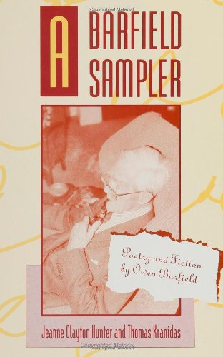 Barfield Sampler Poetry and Fiction by Owen Barfield N/A edition cover