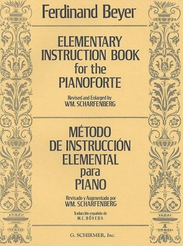 Elementary Instruction Book for the Pianoforte Metodo de Instruccion Elemental N/A edition cover