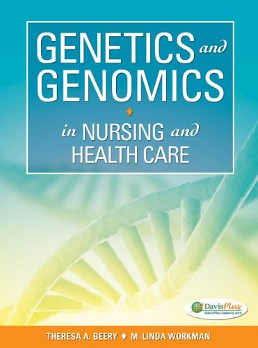 Genetics and Genomics in Nursing and Health Care   2012 edition cover