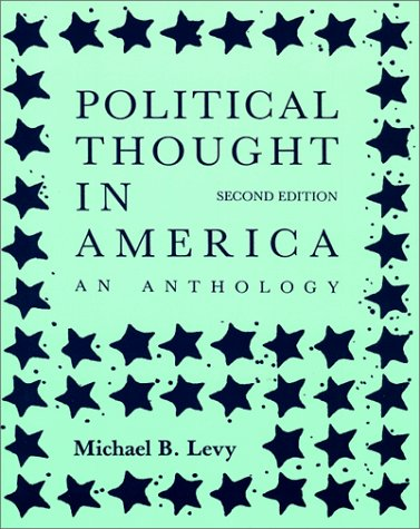 Political Thought in America An Anthology 2nd (Reprint) edition cover