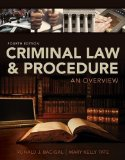 Criminal Law and Procedure: An Overview  2014 edition cover