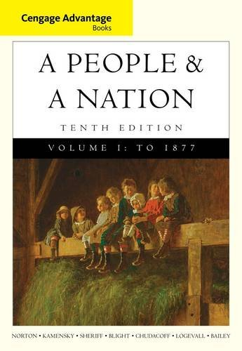 A People and a Nation: A History of the United States - 1877  2014 edition cover