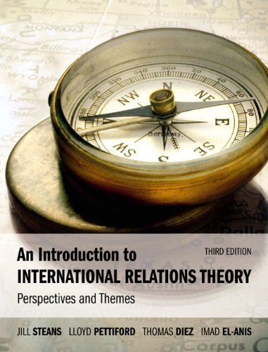 Introduction to International Relations Theory Perspectives and Themes 3rd 2010 (Revised) edition cover