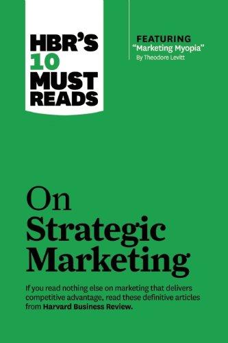 On Strategic Marketing   2013 edition cover