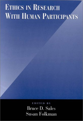 Ethics in Research with Human Participants   2000 edition cover