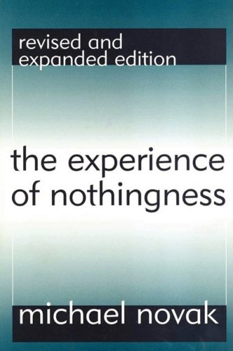 Experience of Nothingness   1998 edition cover