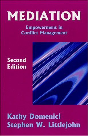 Mediation Empowerment in Conflict Management 2nd 2001 edition cover