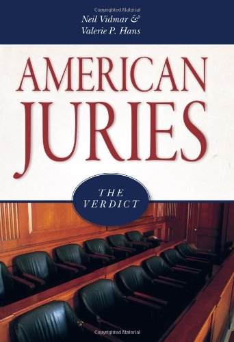 American Juries The Verdict  2007 edition cover