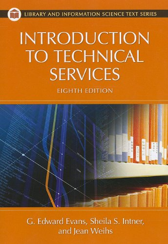Introduction to Technical Services  8th 2011 (Revised) edition cover
