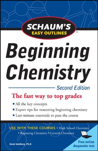 Schaum's Easy Outline of Beginning Chemistry, Second Edition  2nd 2011 9780071745888 Front Cover