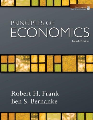 Principles of Economics  4th 2009 edition cover