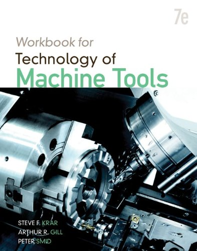 Student Workbook for Technology of Machine Tools  7th 2011 edition cover