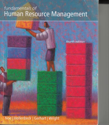 FUND.OF HUMAN RESOURCE MGMT. >CUSTOM<   N/A 9780077503888 Front Cover