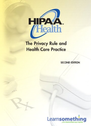 HIPAA Health The Privacy Rule and Health Care Practice 2nd 2011 edition cover