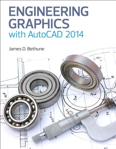 Engineering Graphics with AutoCAD 2014   2014 edition cover