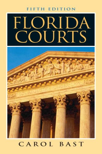 Florida Courts  5th 2009 edition cover