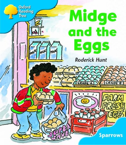 Oxford Reading Tree: Stage 3: Sparrows: Midge and the Eggs (Oxford Reading Tree) N/A edition cover