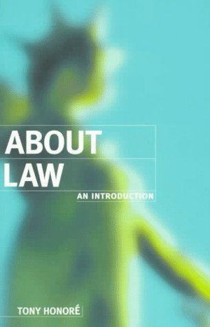About Law An Introduction  1995 9780198763888 Front Cover