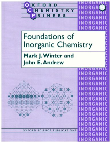 Foundations of Inorganic Chemistry   2000 9780198792888 Front Cover