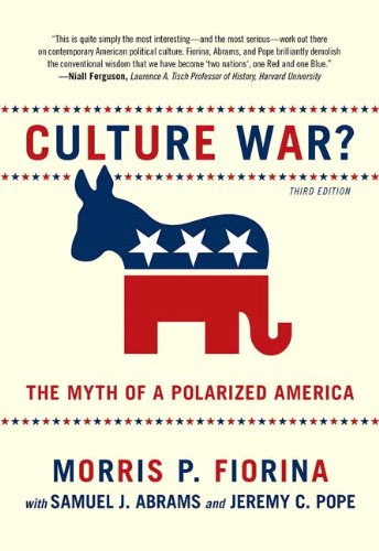 Culture War? the Myth of a Polarized America  3rd 2011 edition cover