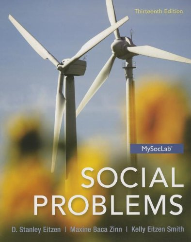 Social Problems:   2013 9780205881888 Front Cover