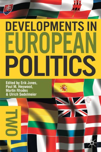 Developments in European Politics  2nd 2011 (Revised) edition cover